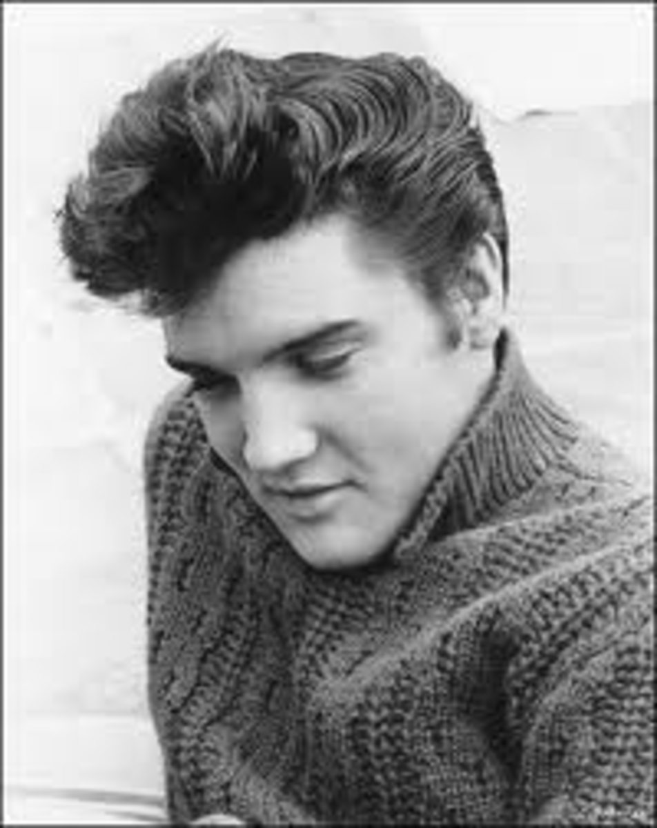 In 1954 Elvis Presley began his singing career with the legendary Sun Records label in Memphis. In late 1955, his recording contract was sold to RCA Victor. By 1956 he was an international sensation. With a sound and style that uniquely combined his
