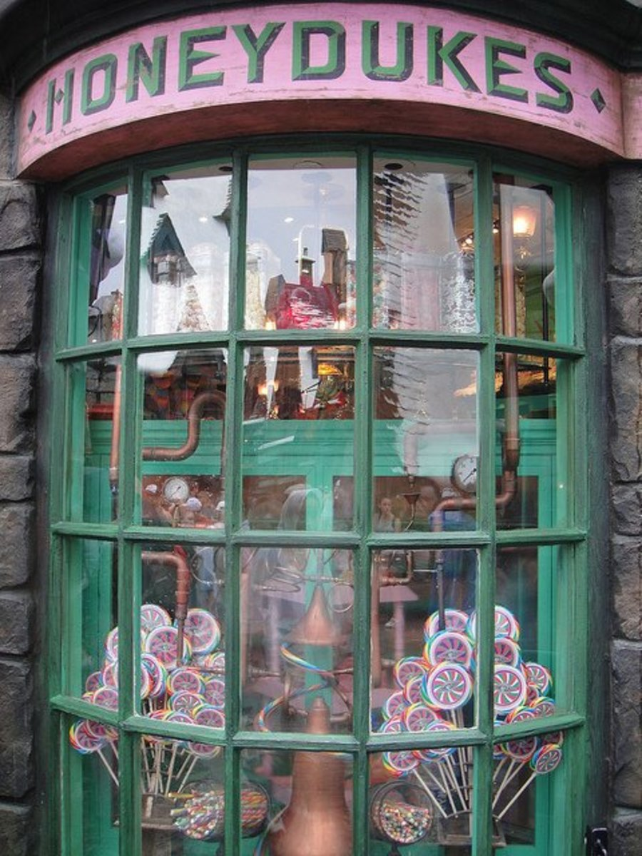 Honeydukes sweetshop