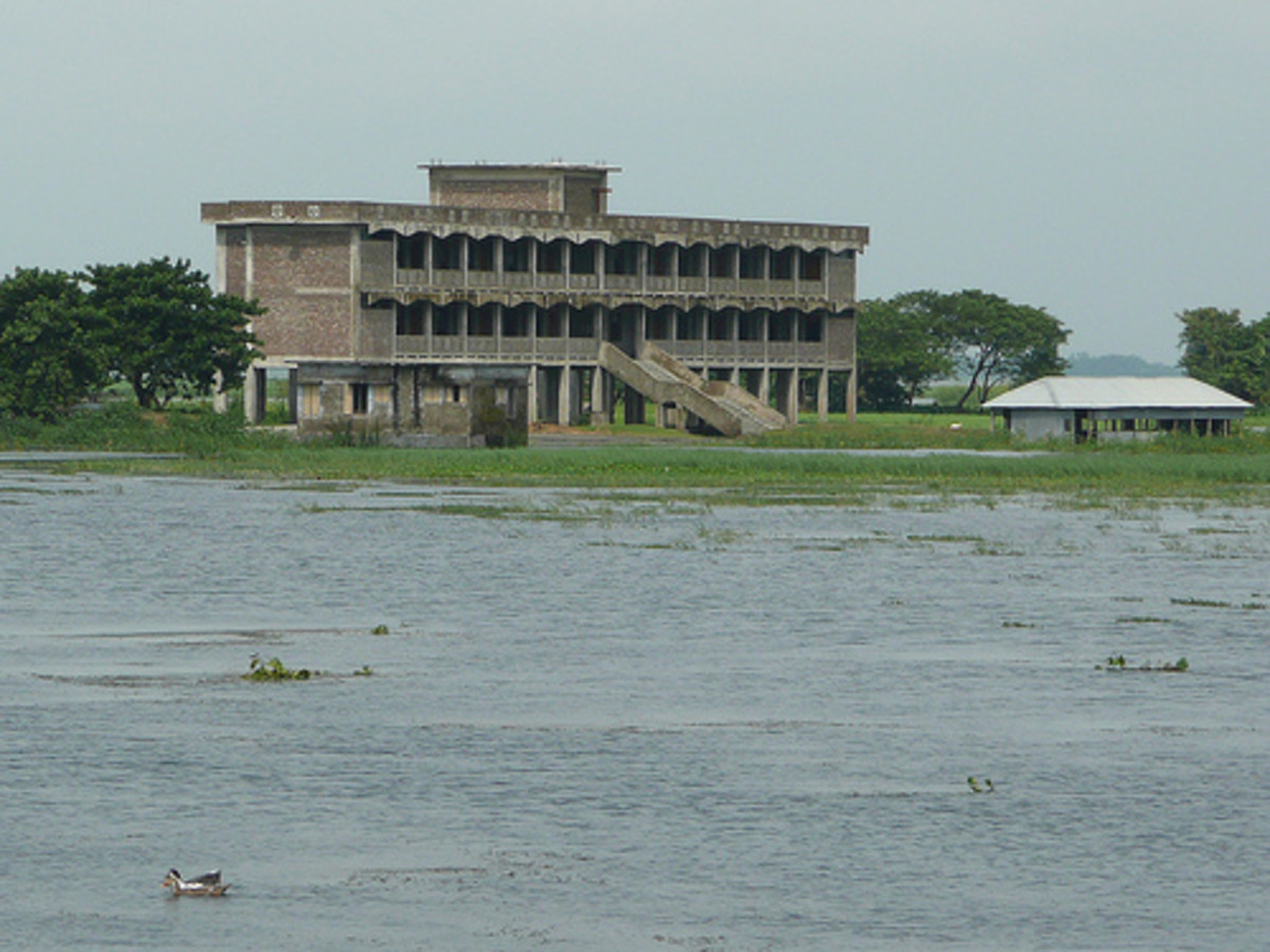 Bangladesh remains under constant threat of flood every year due to the monsoon rains.
