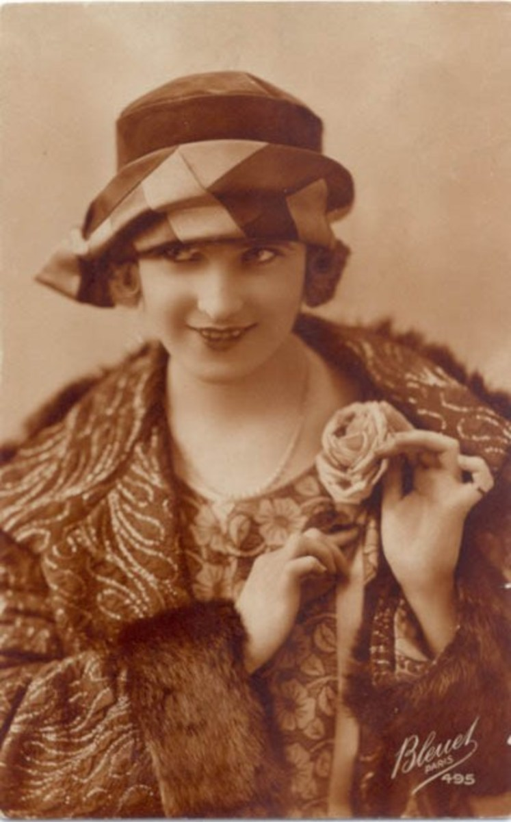 "Zelda as ""The first American Flapper"""