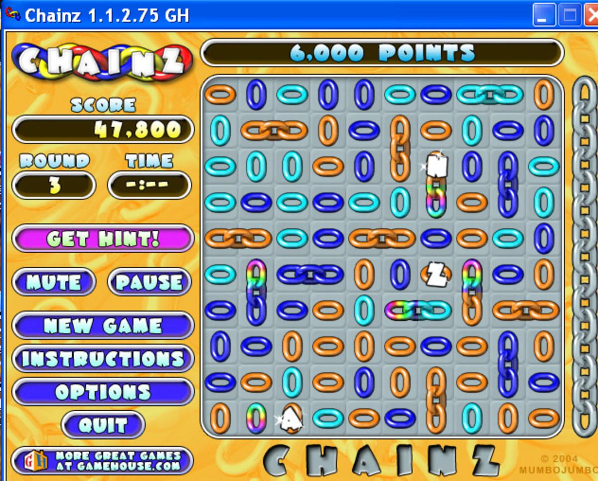 Level 3 screenshot--letters added