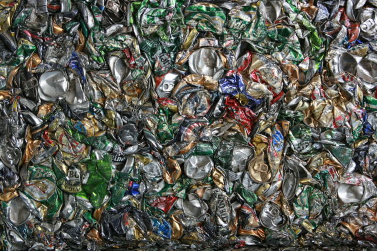 recycling aluminum cans for cash, matei, morguefile.com