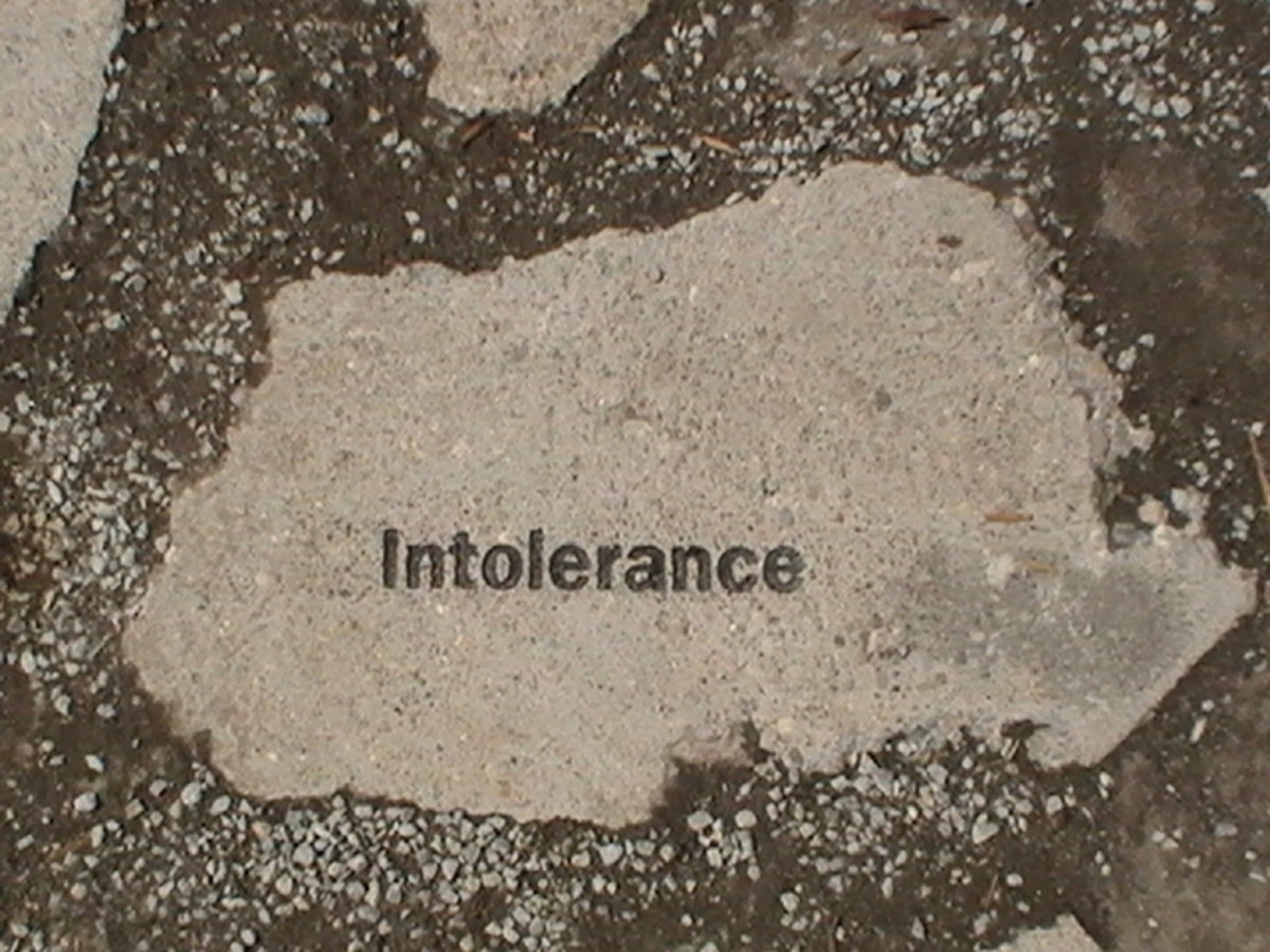 Paving Stones line the walkway surrounding the monument. One contains a brief history of the Wall in Germany. The rest contain a single word: Indifference, Distrust, Judgment, Ignorance, Prejudice, Control, Fear, Selfishness and Intolerance.