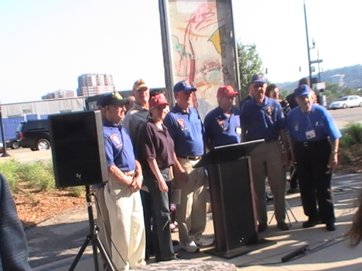 Berlin U S Military Veterans Were Special Guests at the Dedication