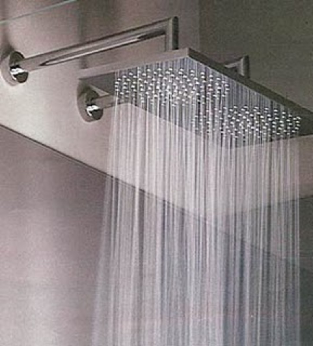This is another example of a common gentle rain showerhead
