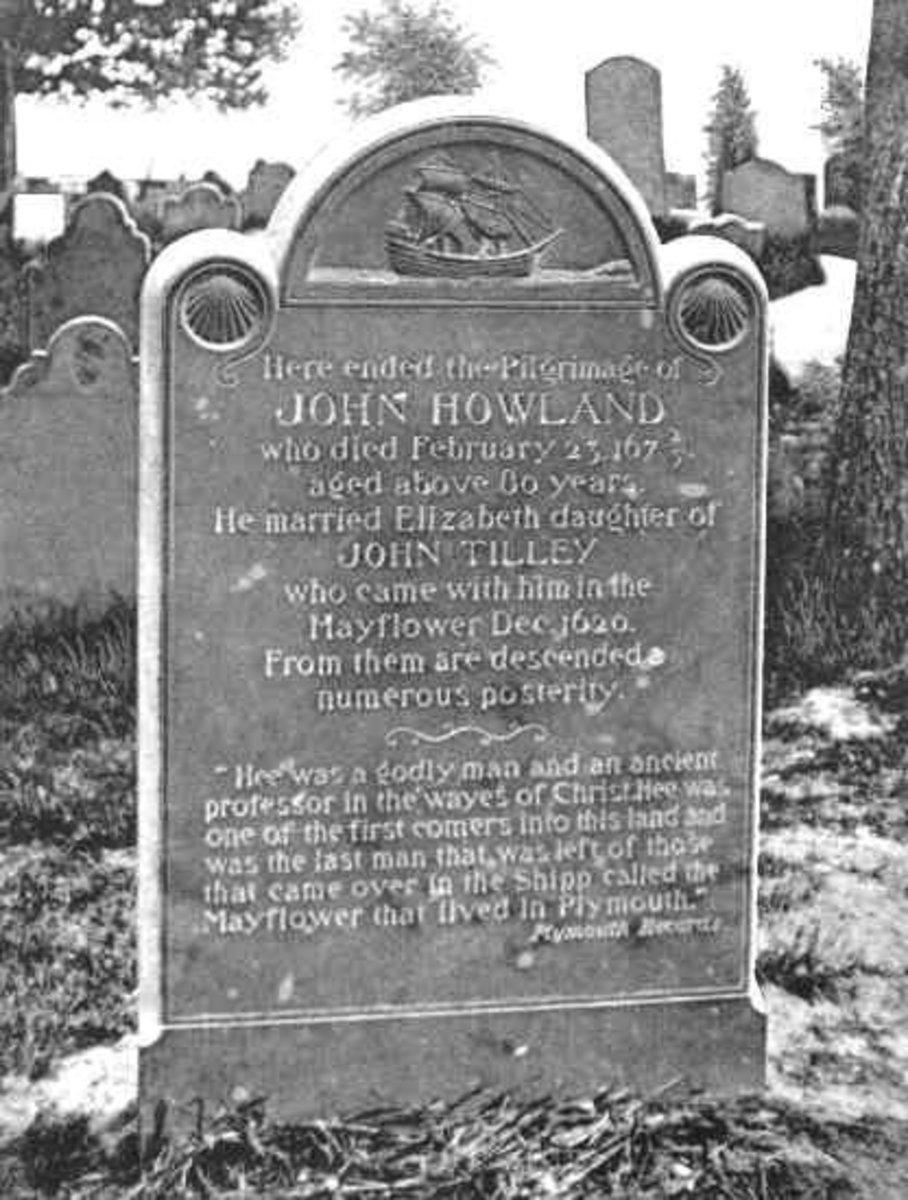 John Howland Headstone