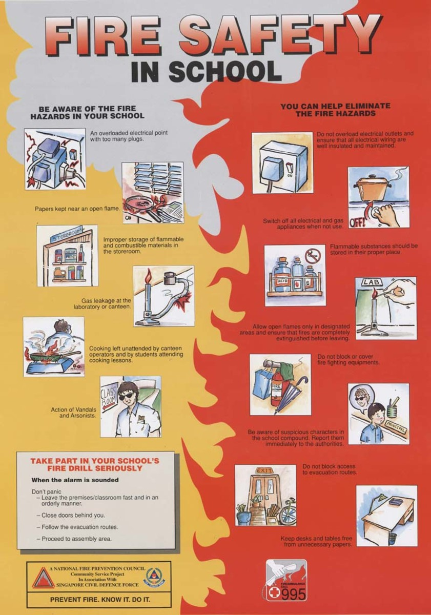 fire safety procedures and measures in schools To be efficient, the school's emergency plan should be comprehensive yet simple  to follow,  participating in training to implement these measures  practice  drills will cover a variety of emergencies (fire drill, earthquake drill children in.