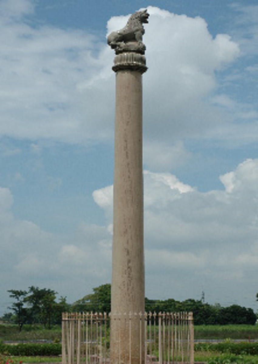 Ashoka Pillar at Sarnath