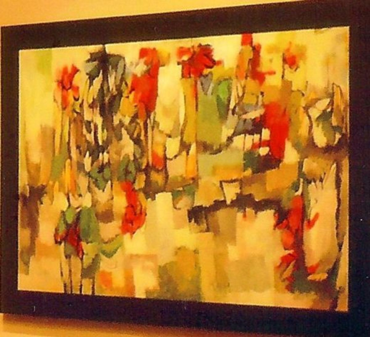 Robert Rogan painting