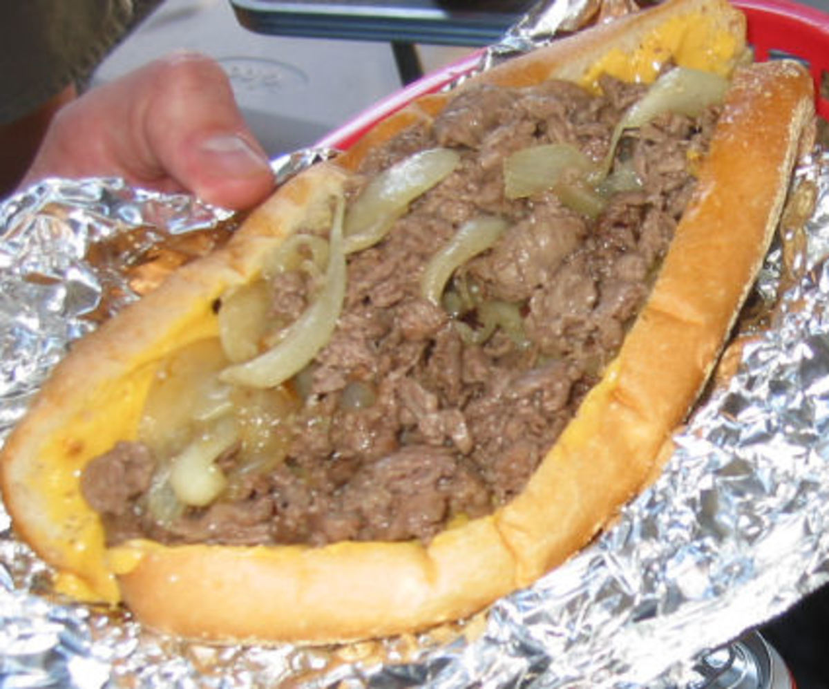 Original Philly Cheese Steak Recipe
