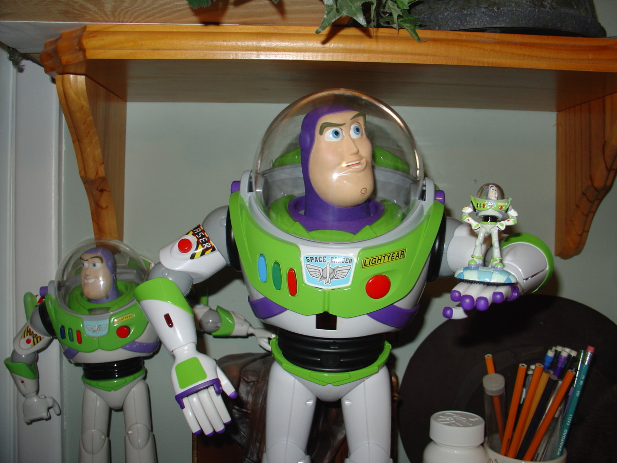 Left to Right- Original Ultimate, Ultimate Programmable, and Mini-Buzz