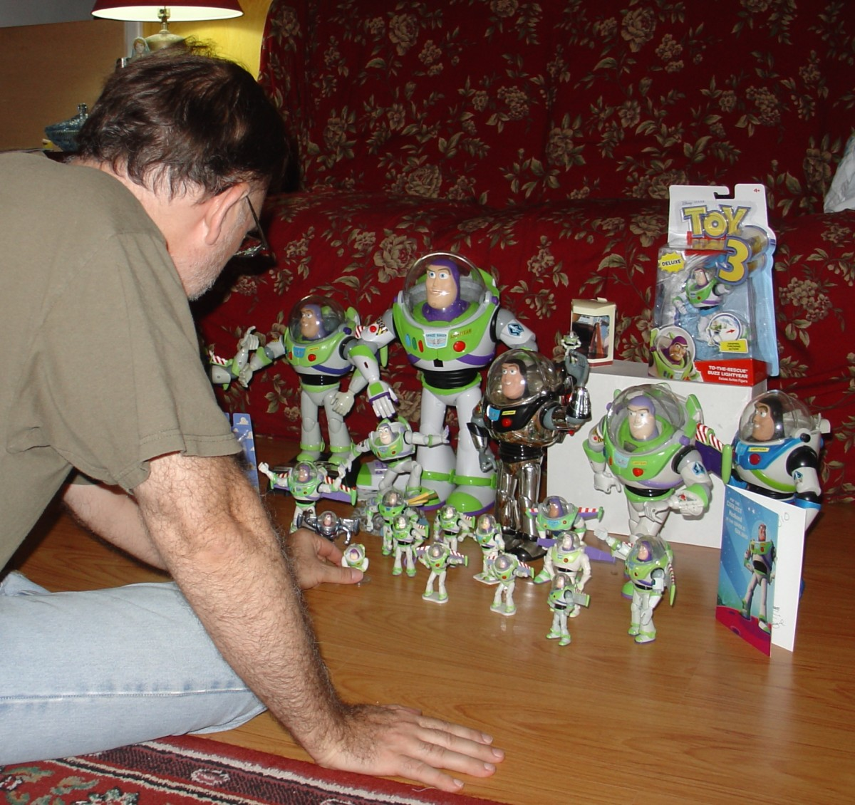 Just having fun with my Buzz Lightyear collection
