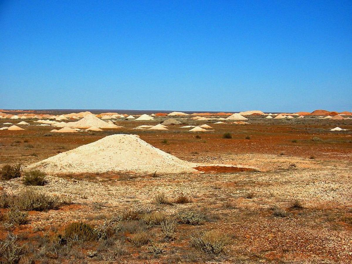 Opal Mines at Coober Pedy