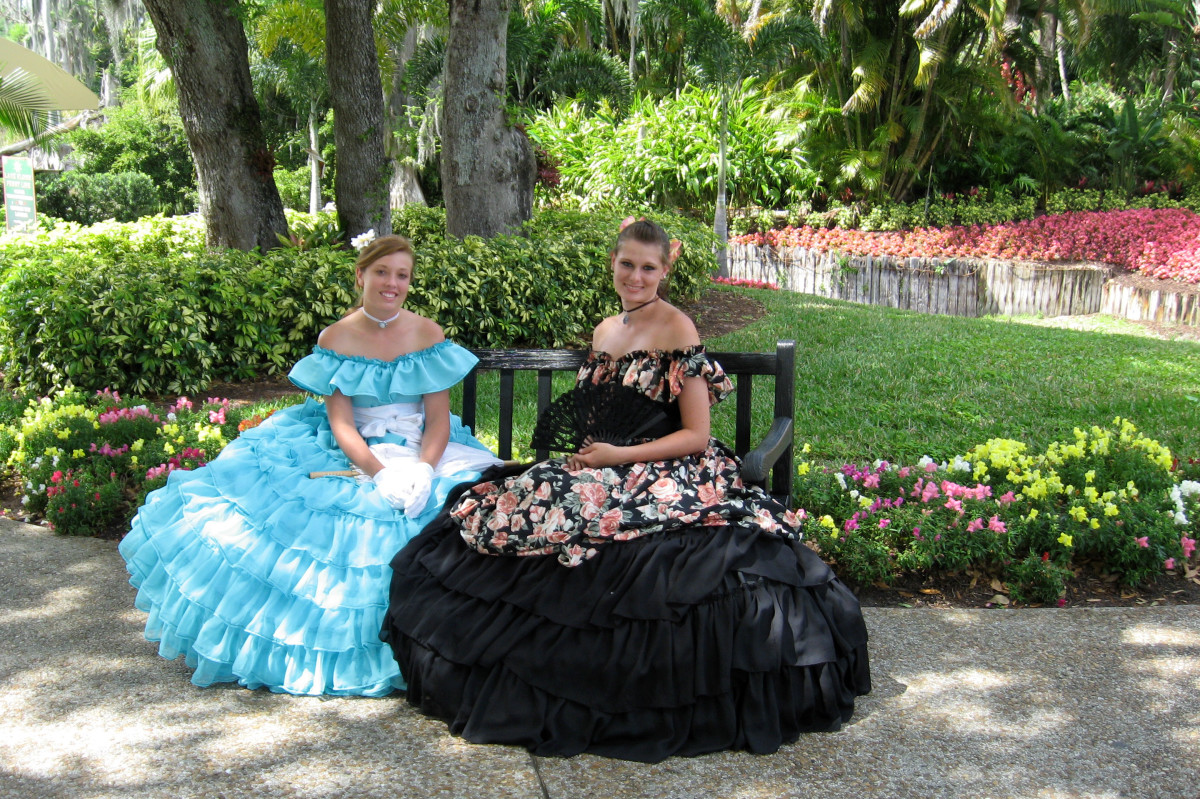 Classic outfits for southern belles.