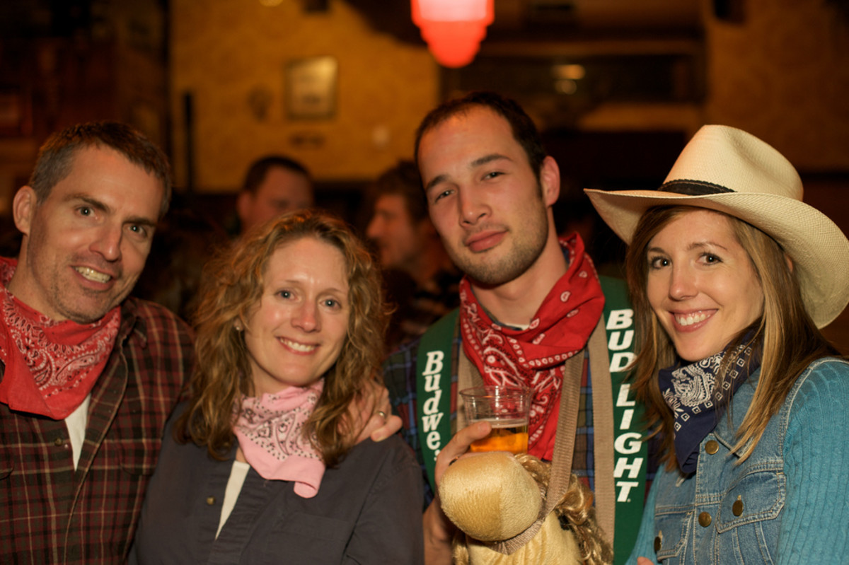 Dress up in your country/Western clothing and come on down for a hoedown!