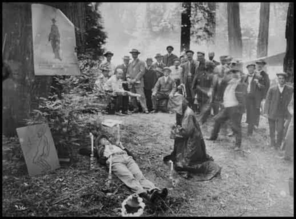 A ritual funeral