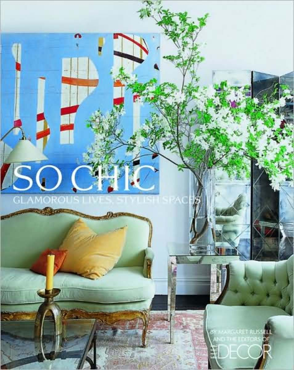 Book cover featuring a chic space in Candace Bushnell's Manhattan living room.