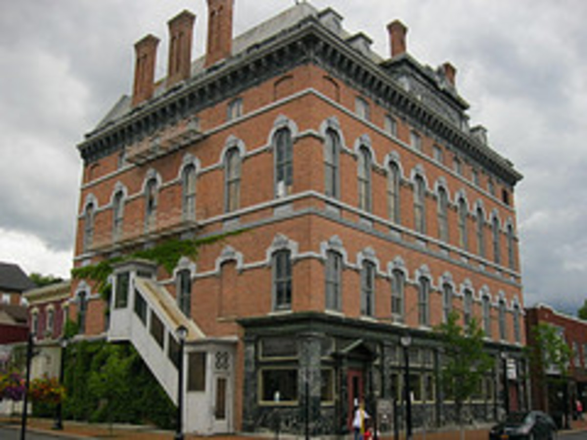 The Haunted Cohoes Music Hall
