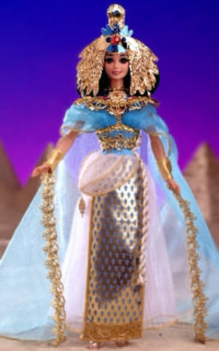 1994 Egyptian Queen Barbie Doll