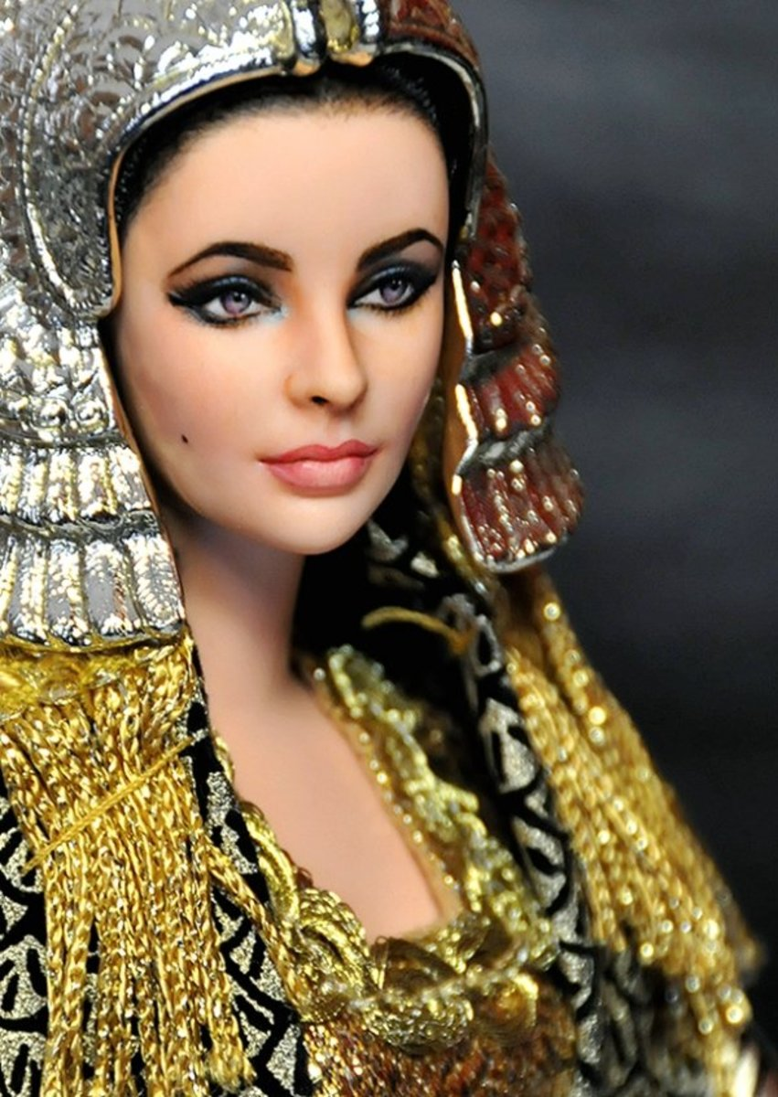 Cleopatra Barbie - Inspired by Elizabeth Taylor