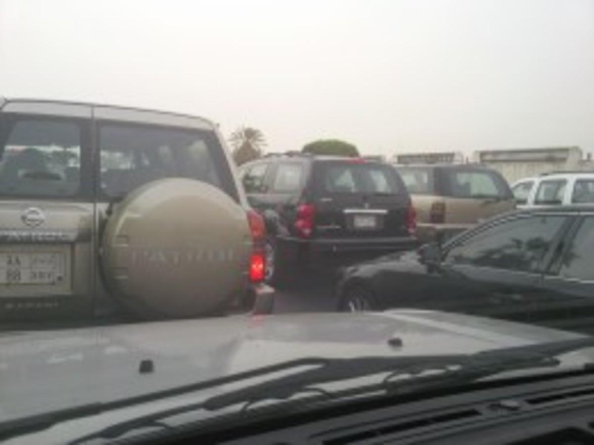 Nose to Nose Traffic through Jeddah
