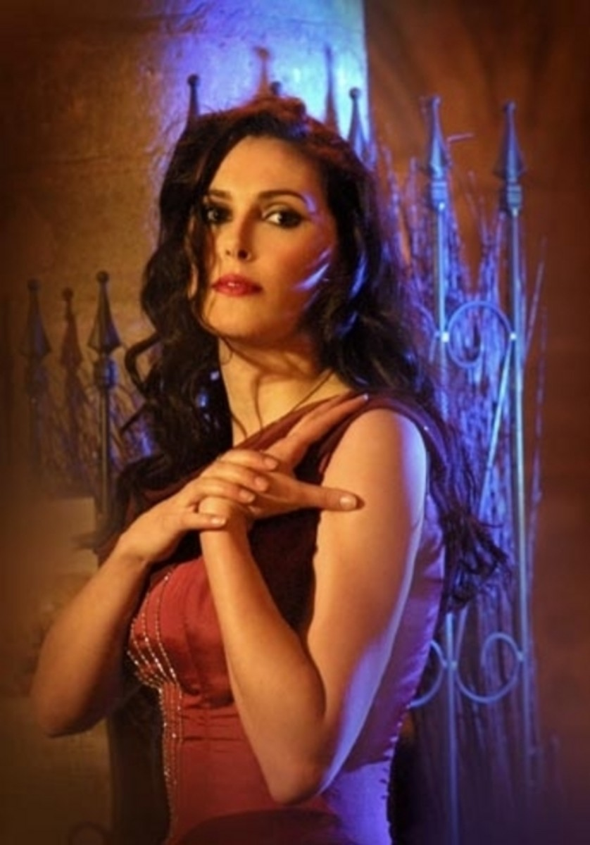 5. Sharon Den Adel of Within Temptation - What can I say, the girl can sing.