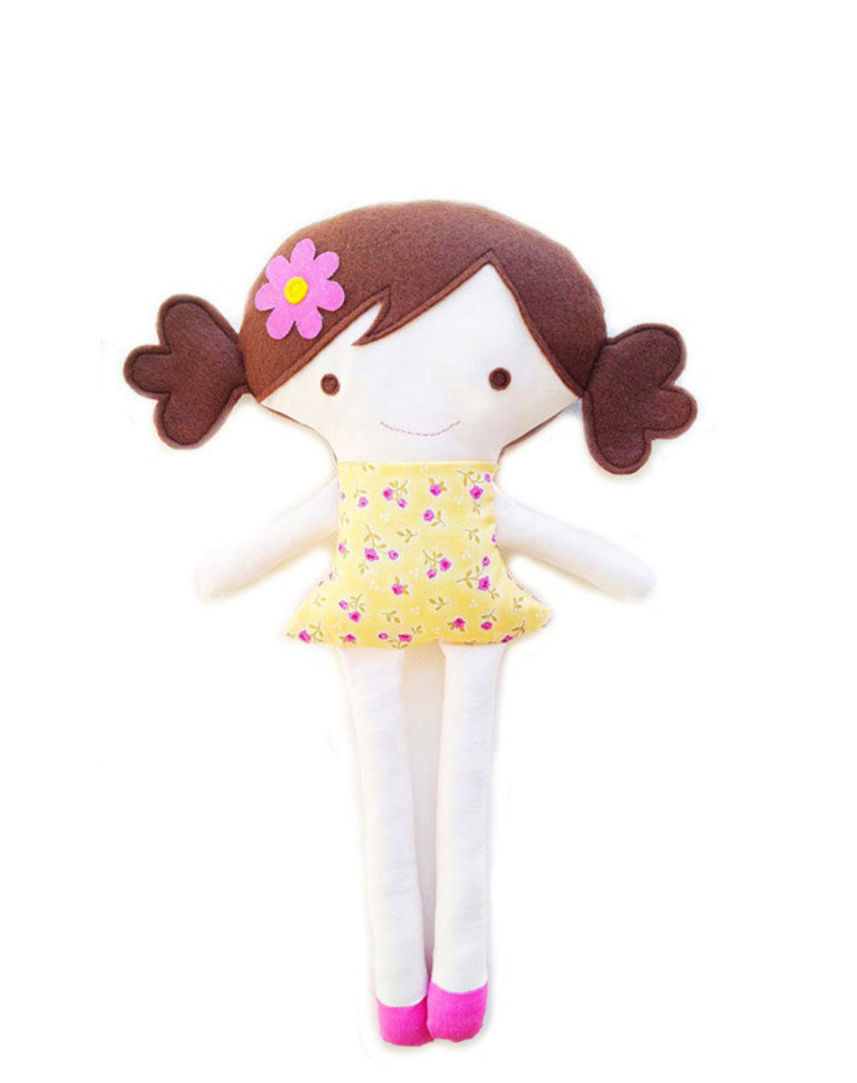 Very cute doll pattern to make sew! Easy to sew.