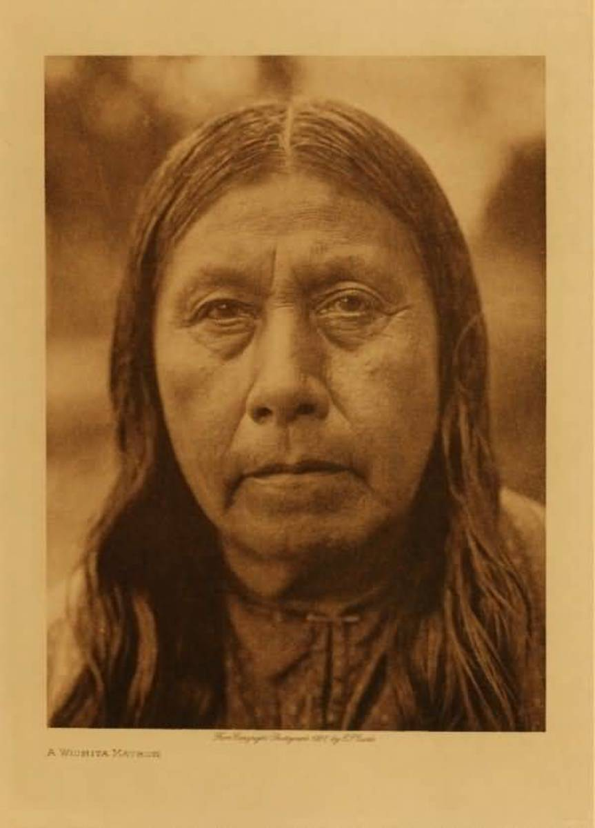 Wichita Matron by Edward S. Curtis c. 1927