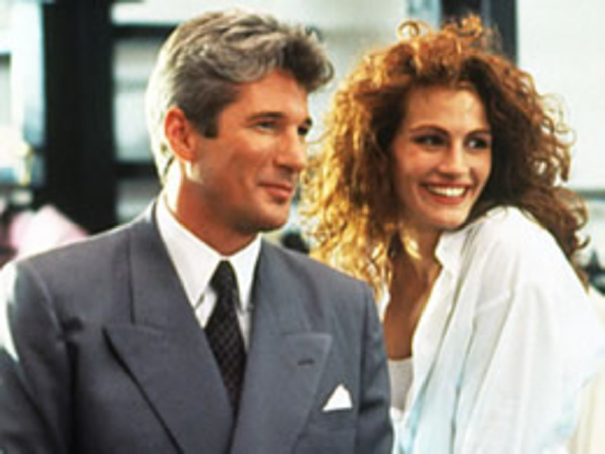 Richard Gere & Julia Roberts in Pretty Woman