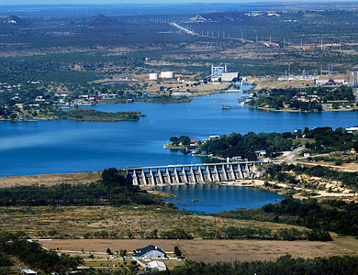 Lake Nasworthy Power Station