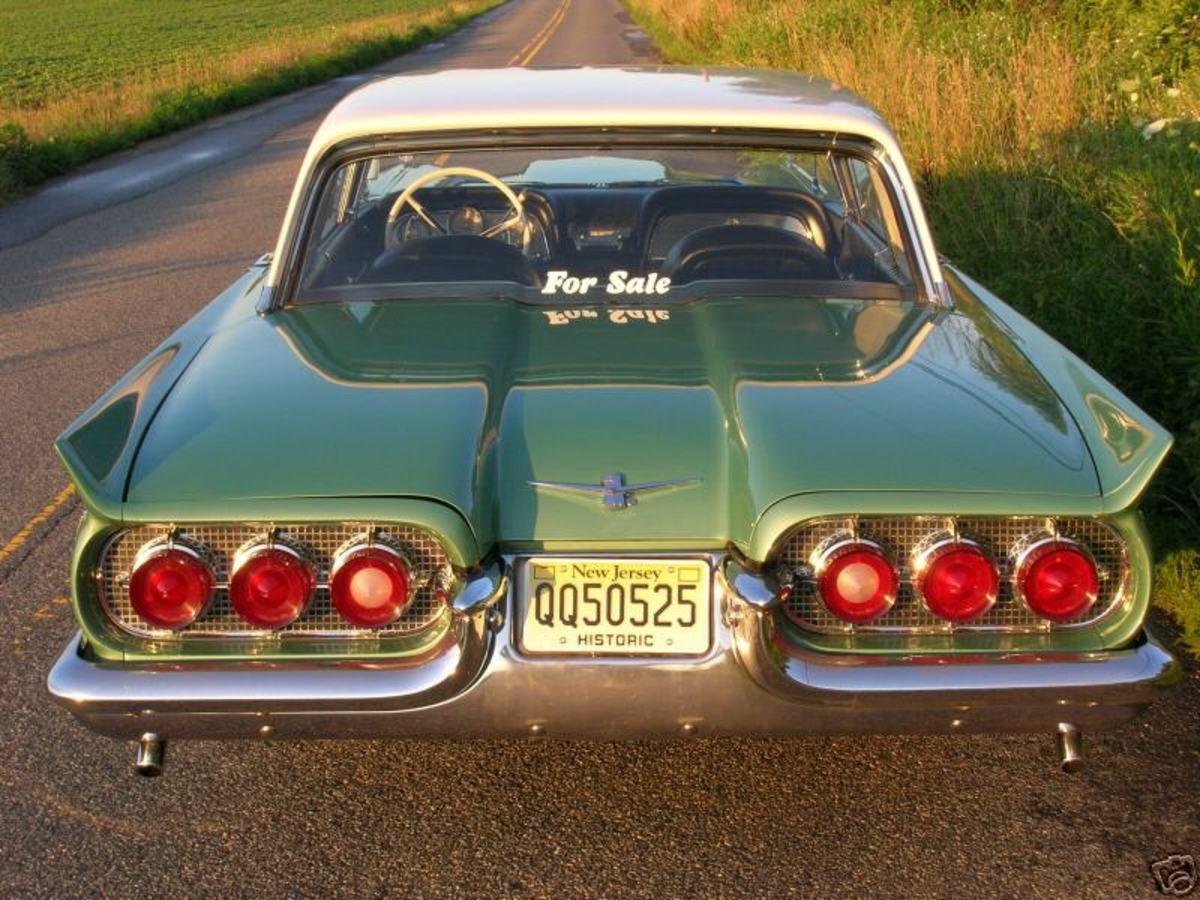 Ford Classic Cars - 1960 Ford Thunderbird
