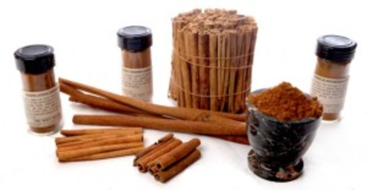 Cinnamon comes in many different forms and it is made out of many different kinds of cinnamon trees