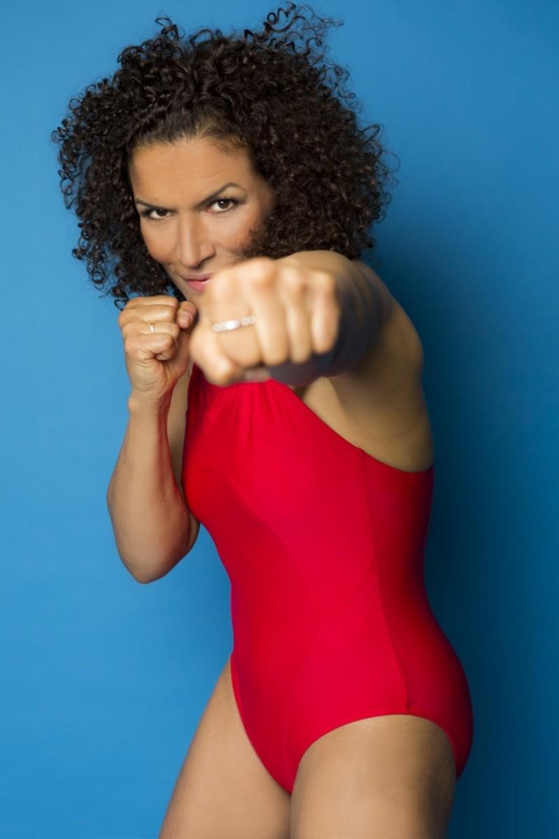 Lucia Rijker - Female Boxer