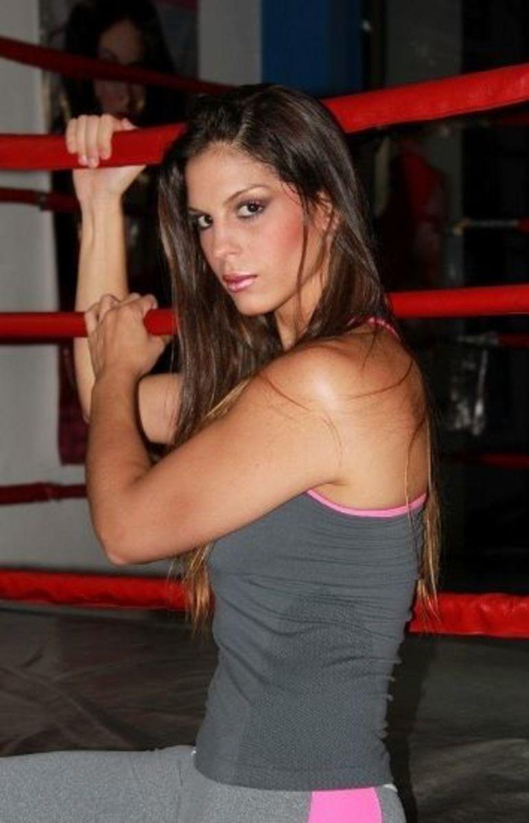 Female boxer Cecilia Comunales