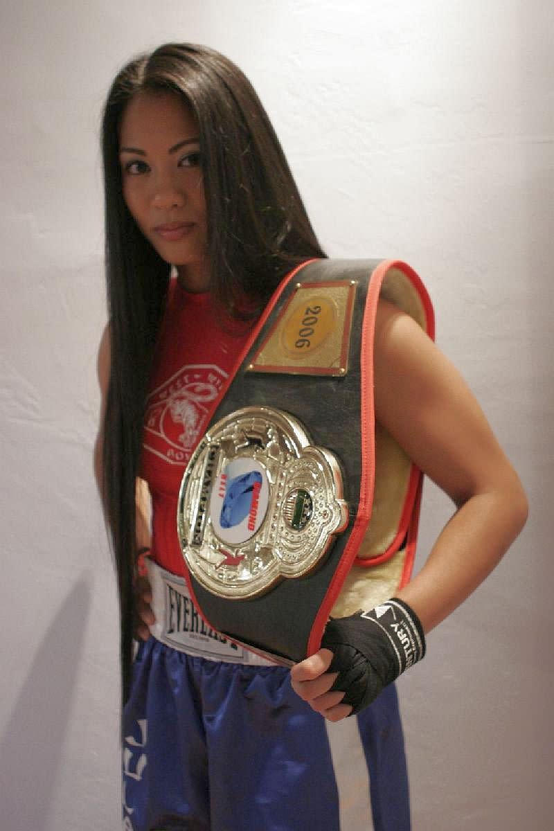 Ana Julaton - Female Boxer and MMA fighter