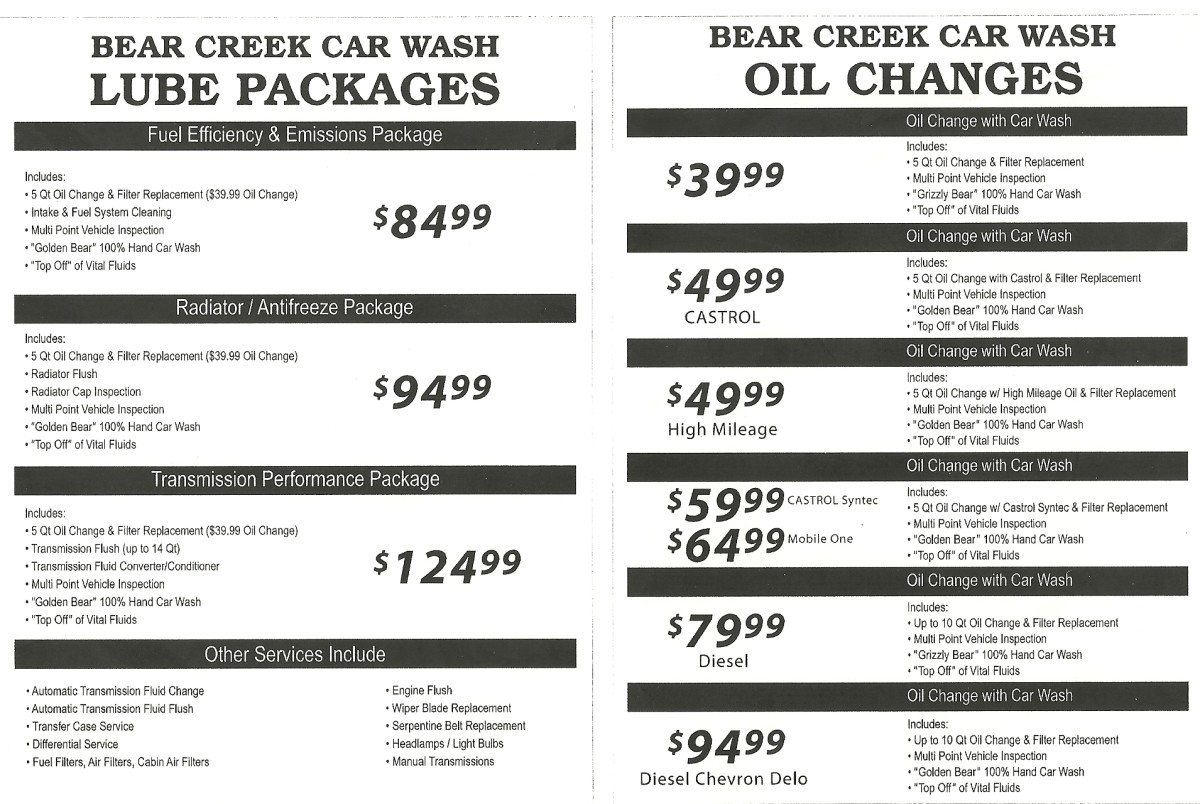 Car Wash Prices: Full Service Car Washes In Murrieta California