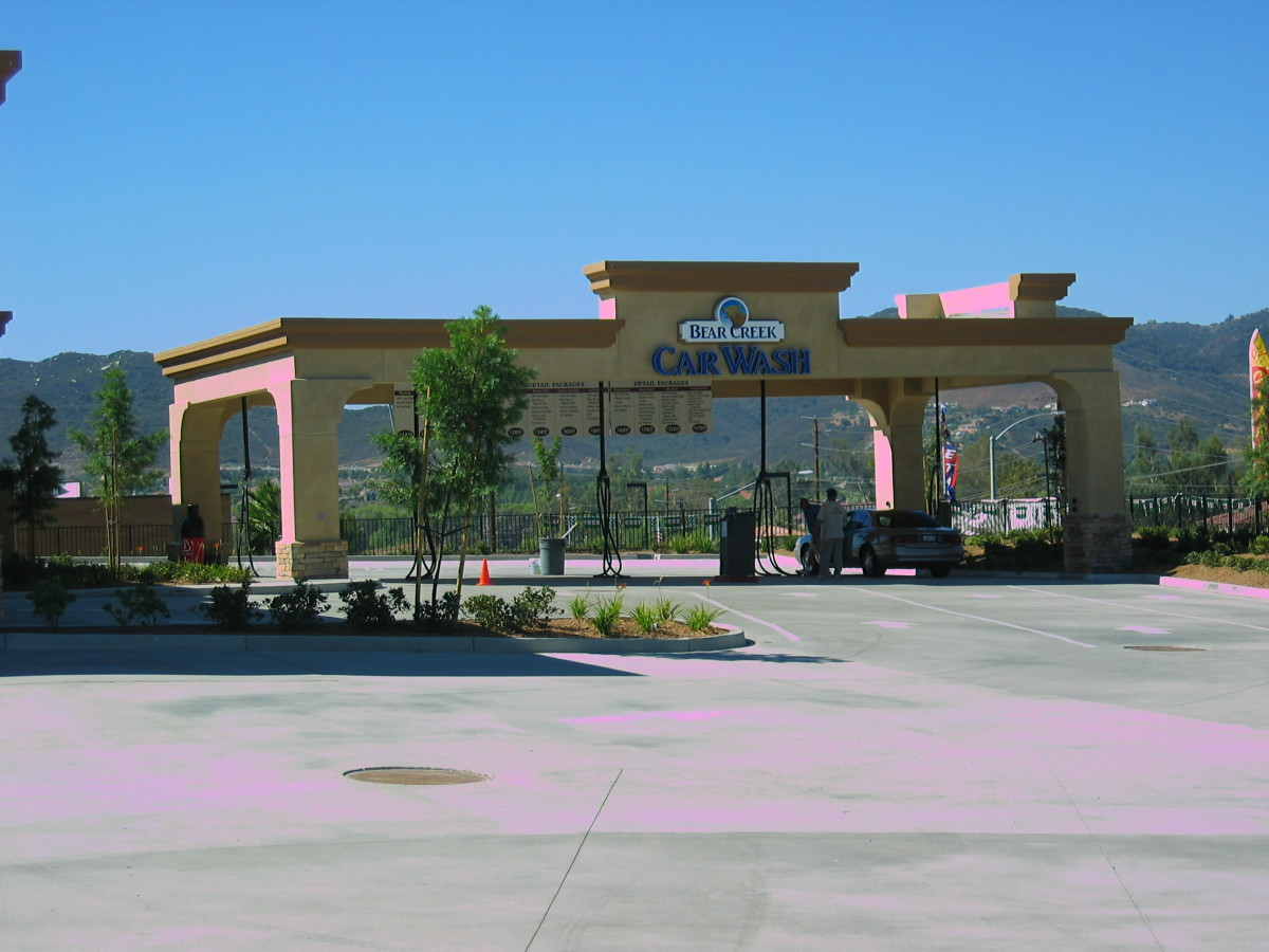 Conveniently located off the 15 freeway, Bear Creek Car Wash offers full service detailing for your vehicle.
