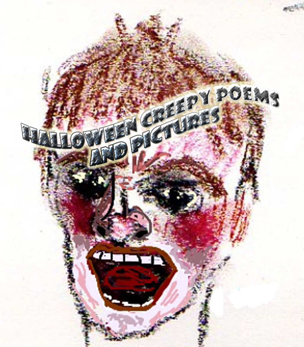 Halloween Creepy Poems and Pictures