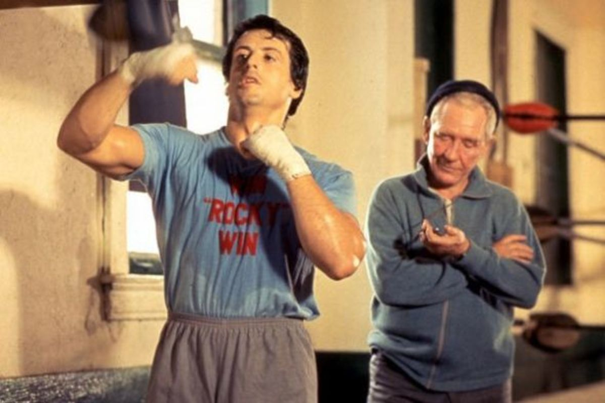 Rocky and Mick: Win, Rocky, Win!