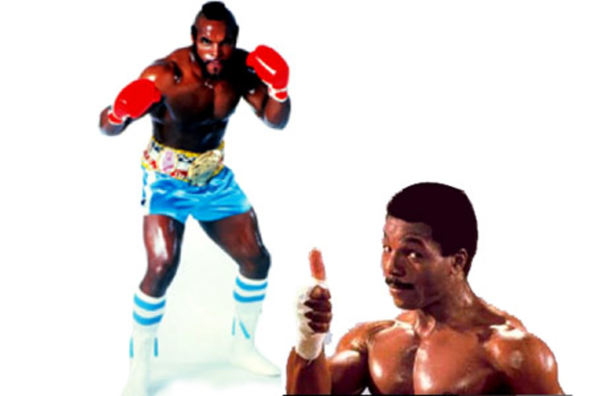 Apollo Creed and Clubber Lang