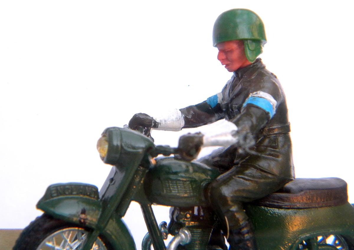 Britains Dispatch Rider #9698