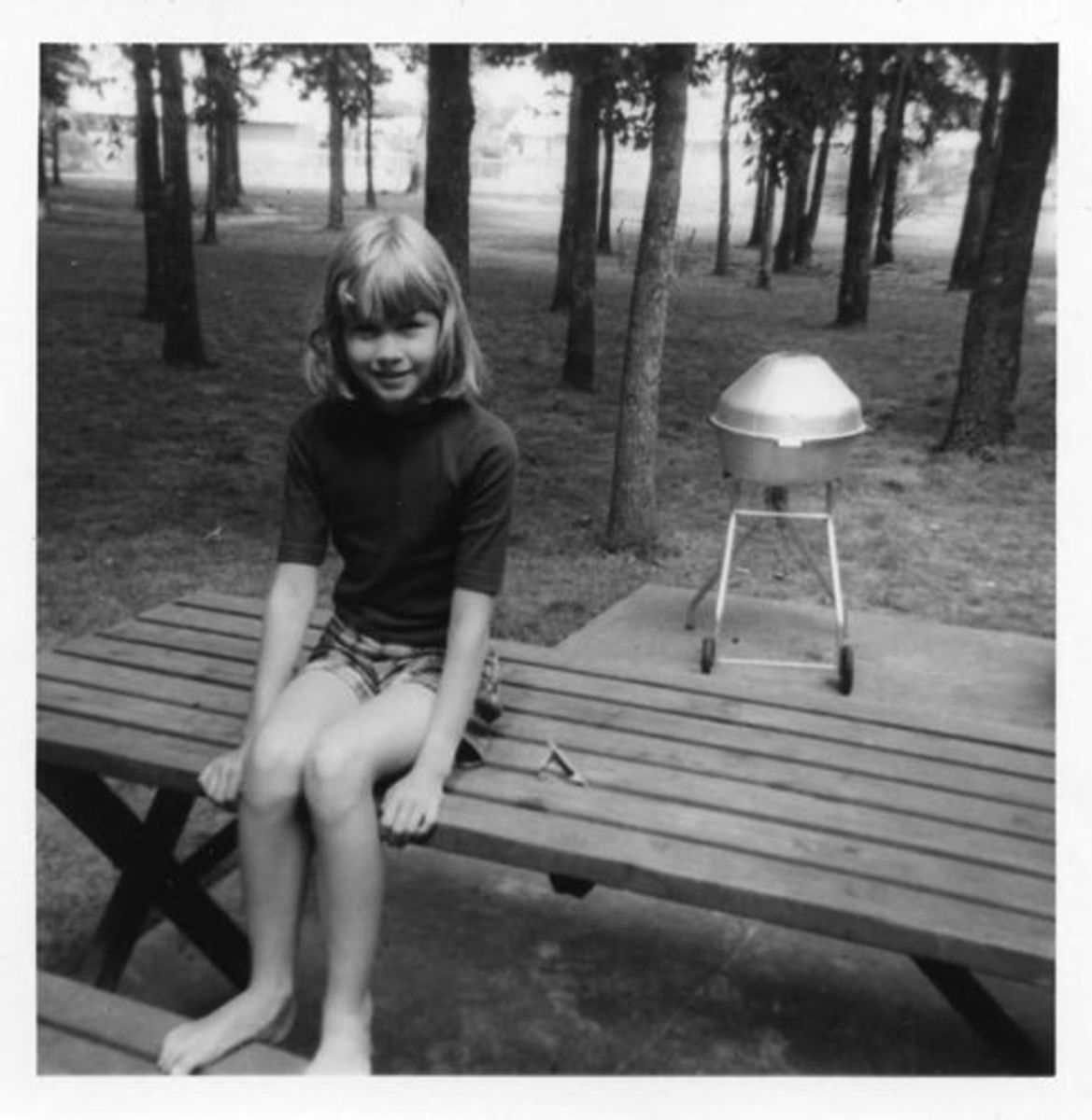 Me at the age of 10--before my Twiggy cut!