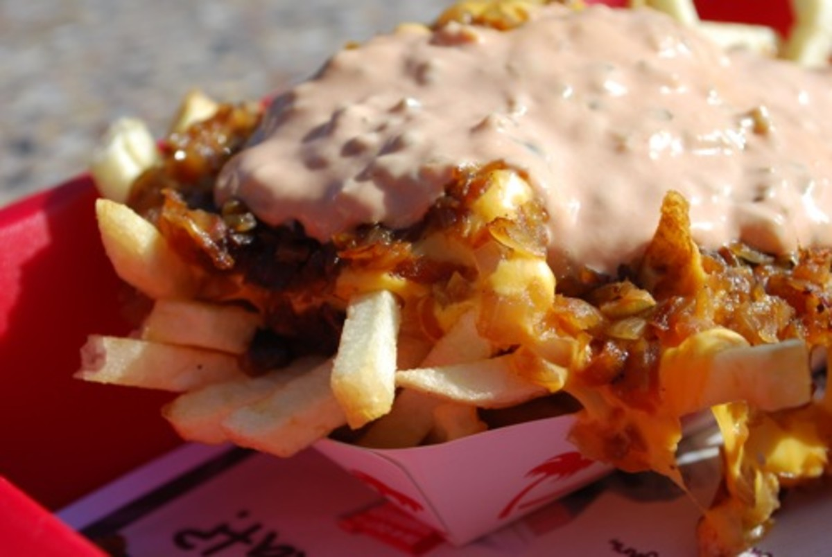 "Animal fries have been described as ""softcore food porn"""