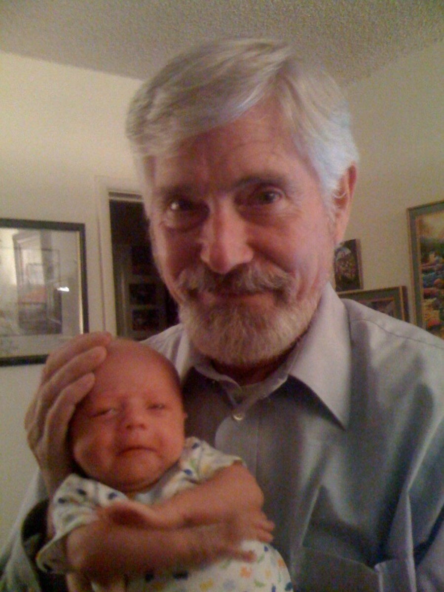 Photo of Herb and Baby Atticus