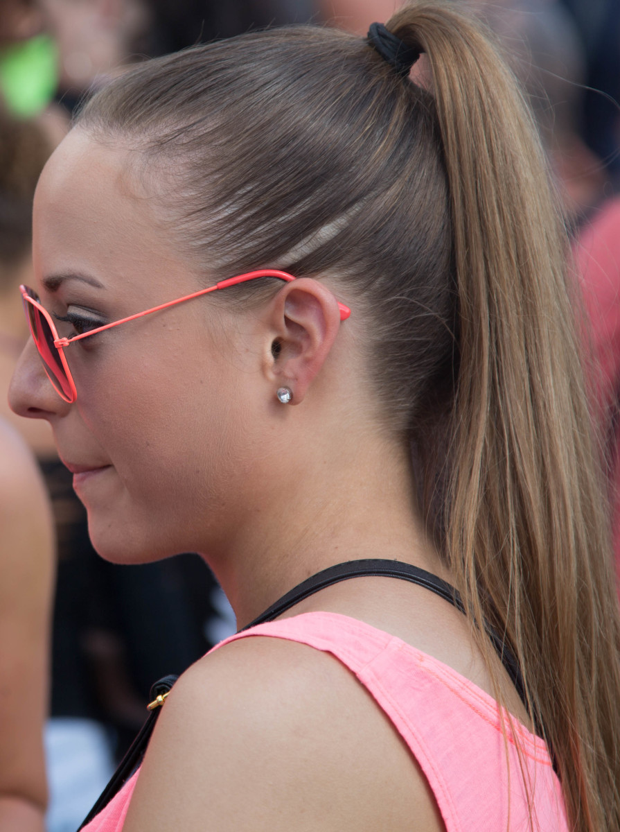 Girl With a Pony Tail