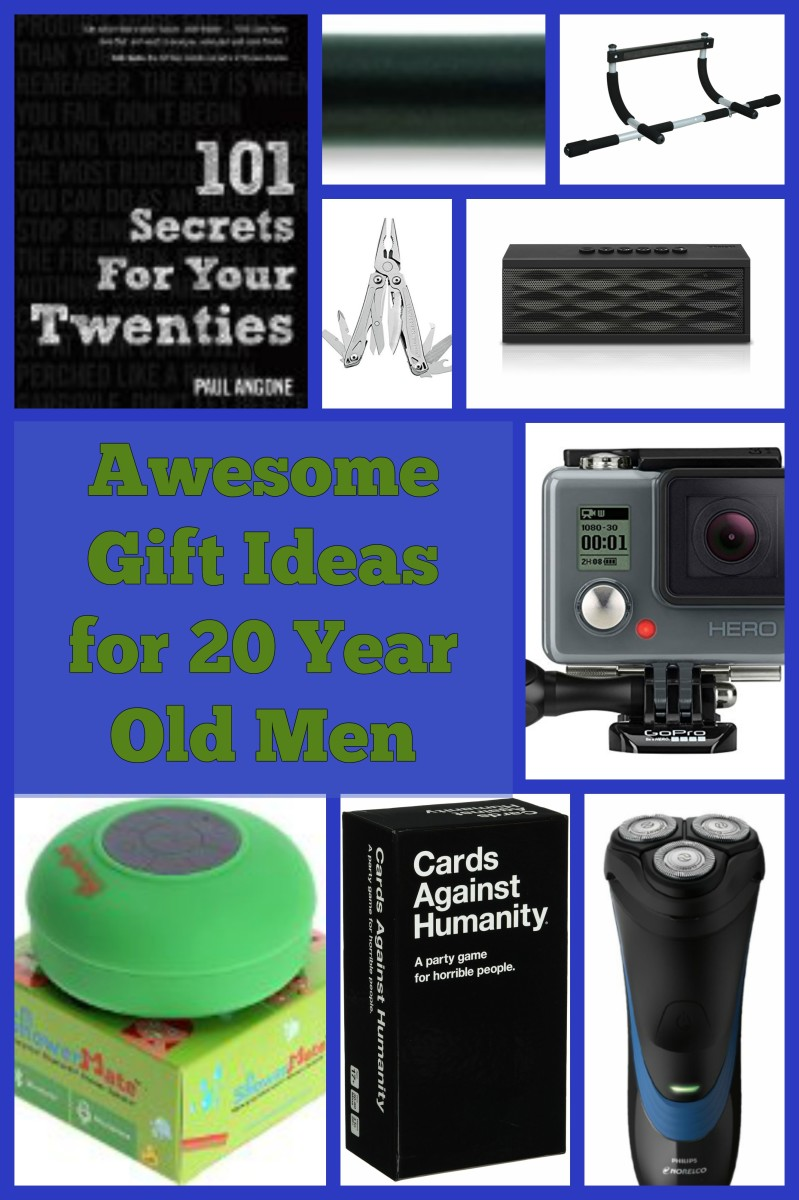 Best Gift Ideas for 20 Year Old Men