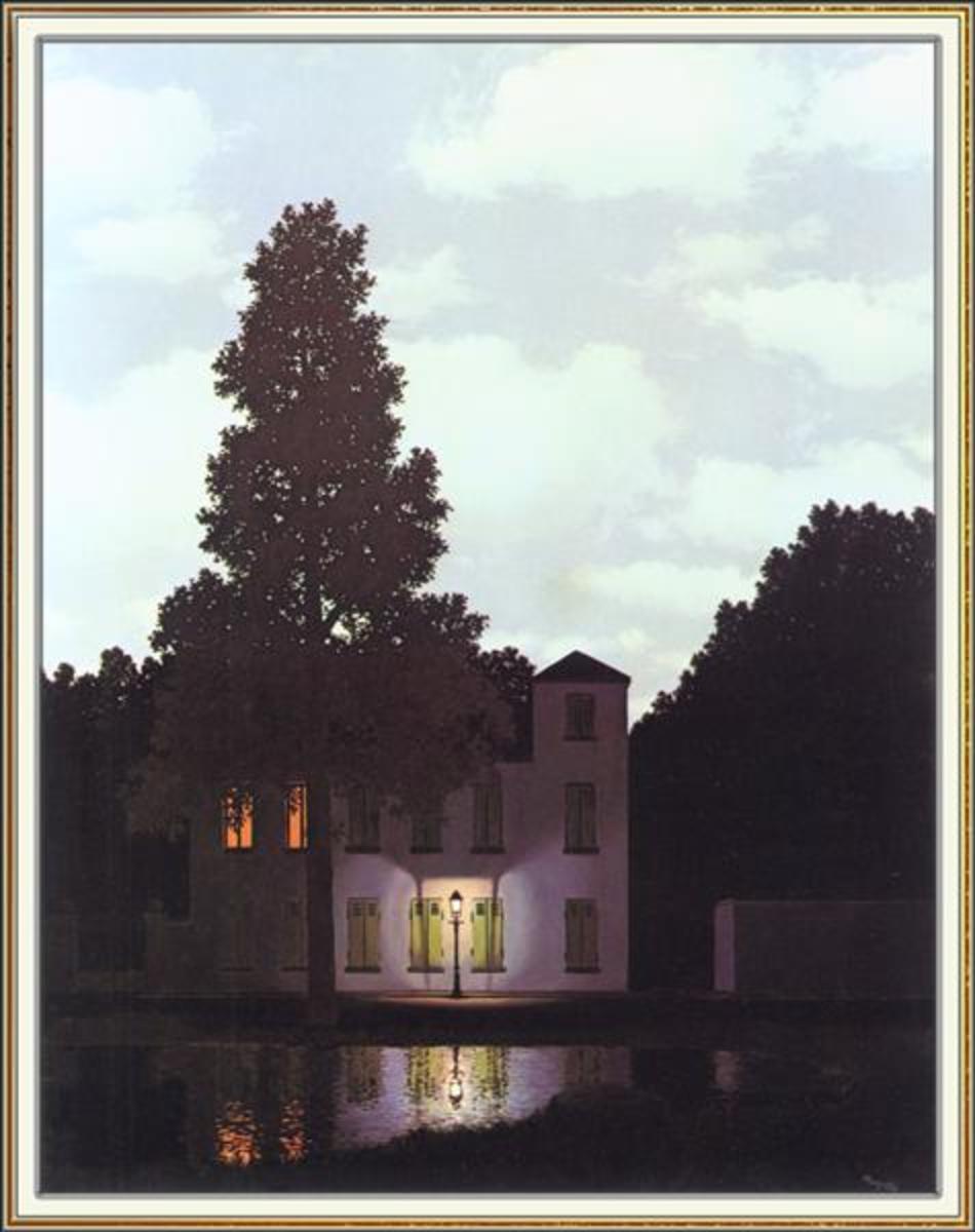 L'Empire des Lumieres - Rene Magritte