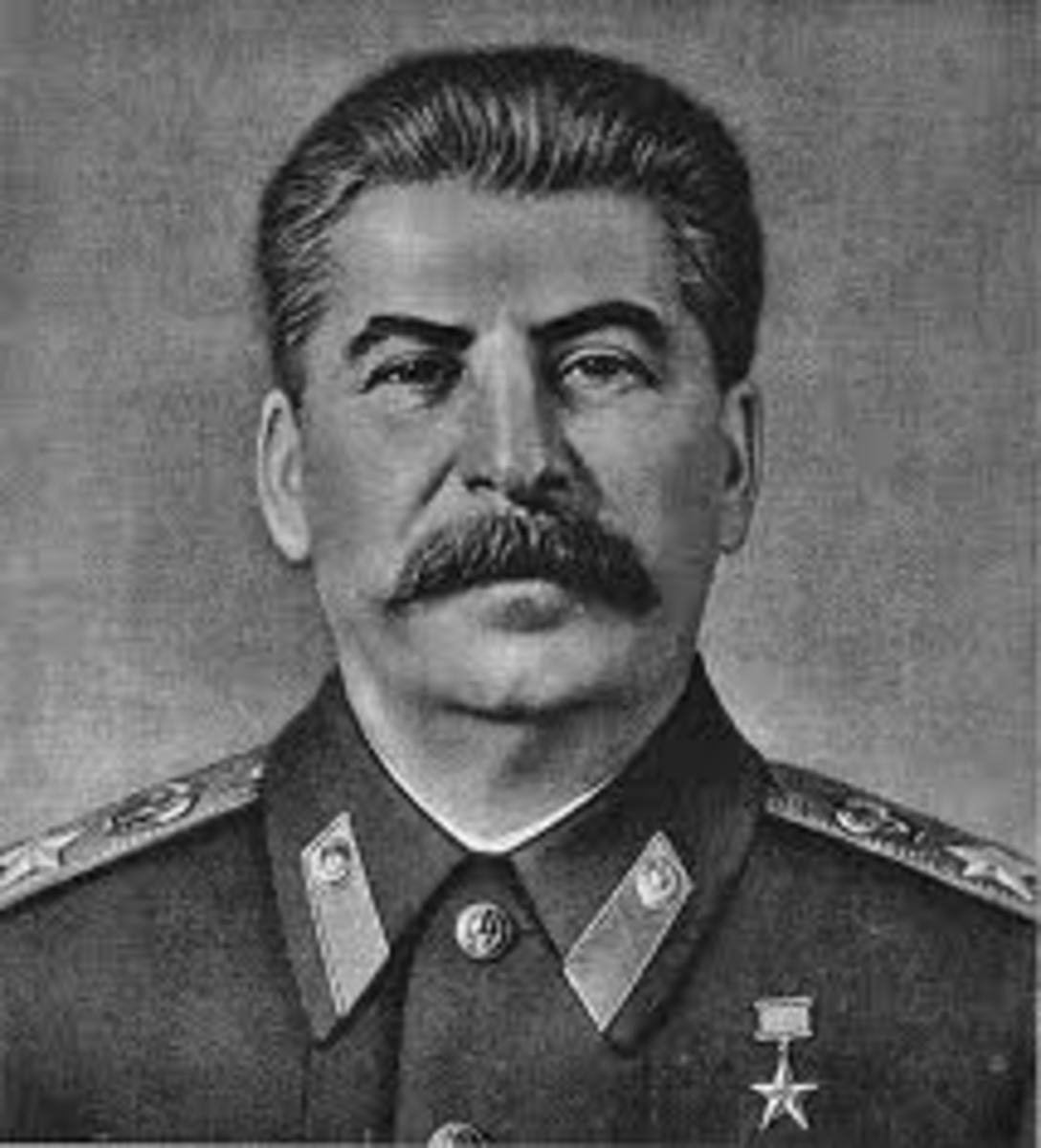 "Joseph Stalin. ""Hero"" of the Soviet Union."
