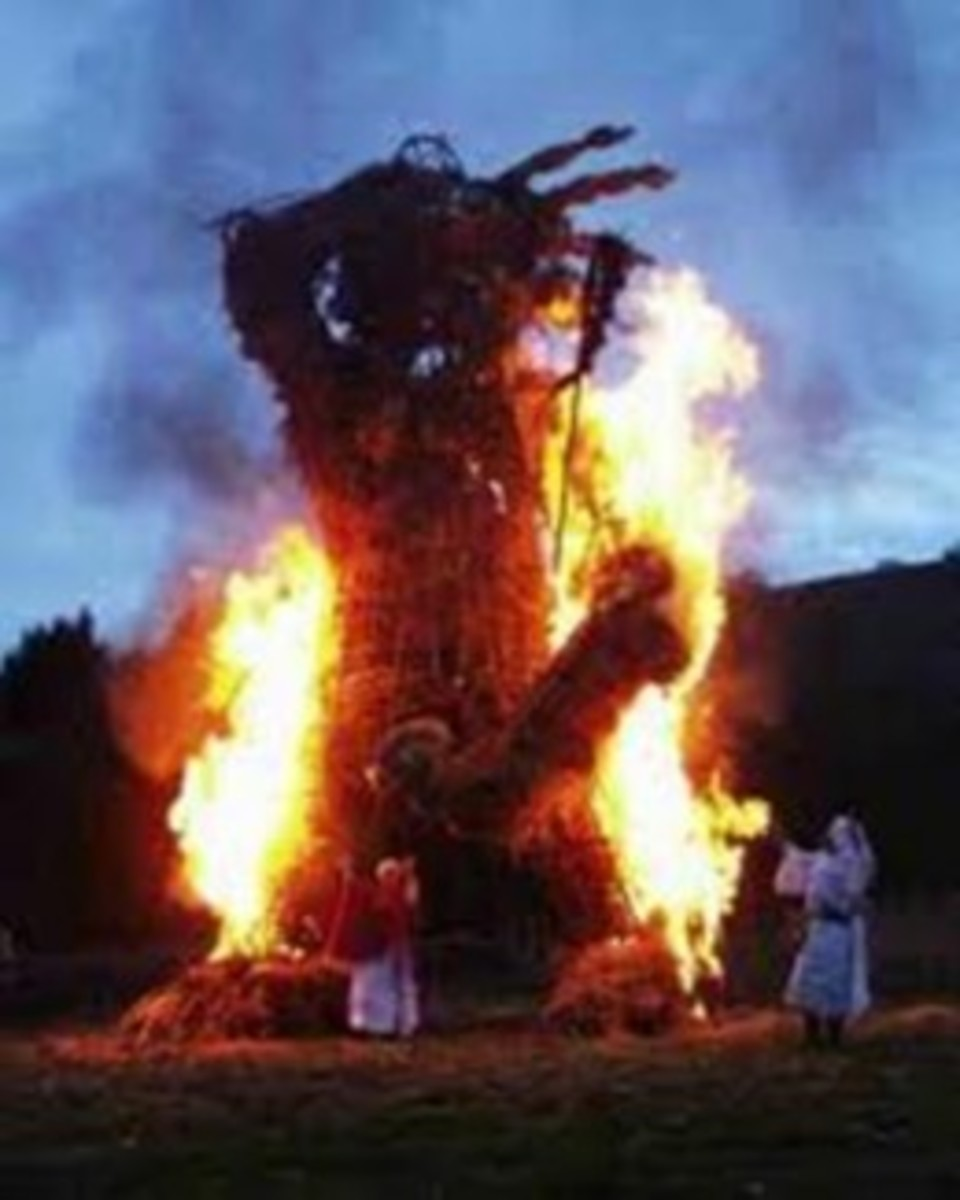 A Wicker Man @ Wikimedia Commons