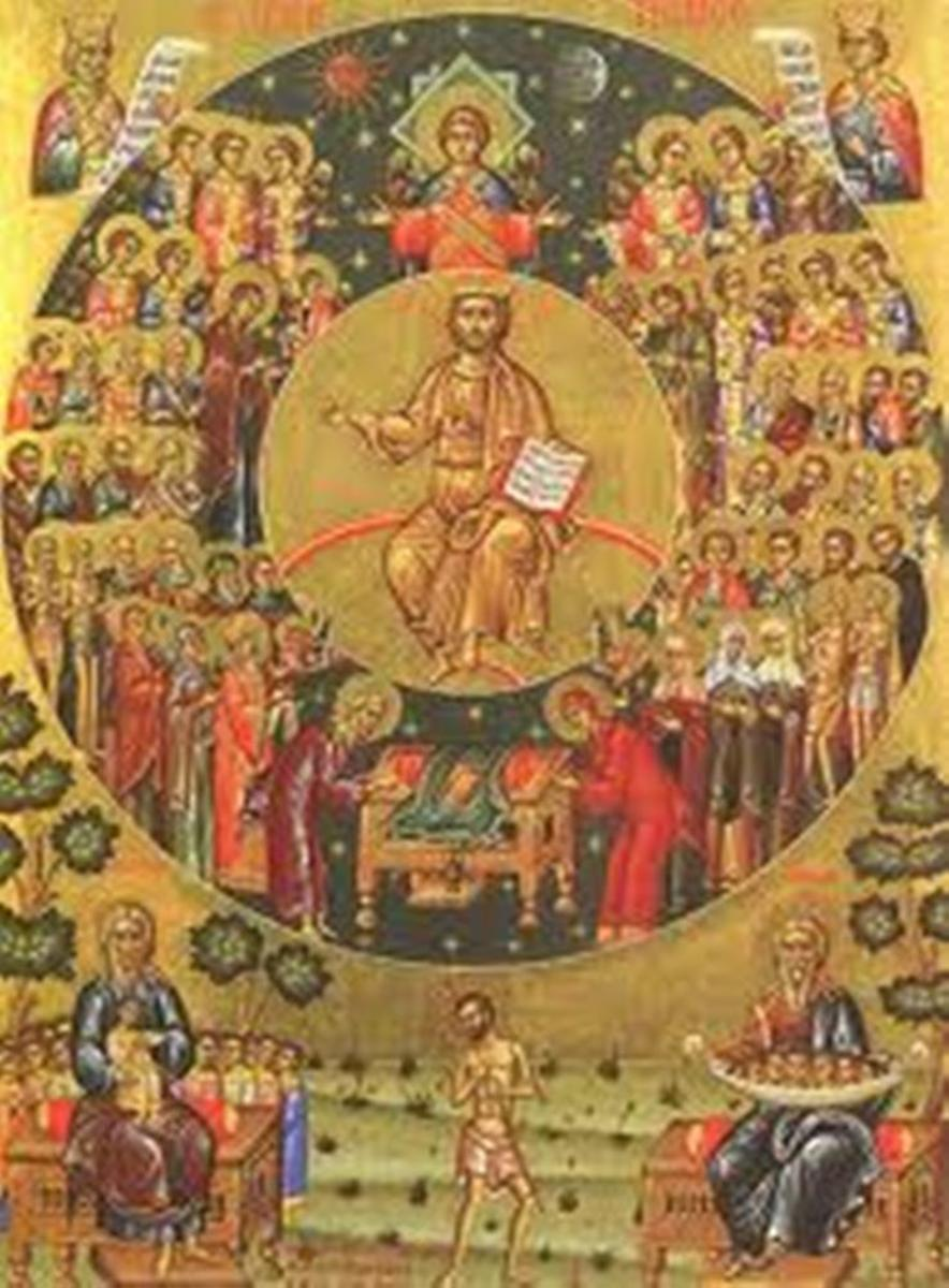 Icons of All Saints @ Wikimedia Commons